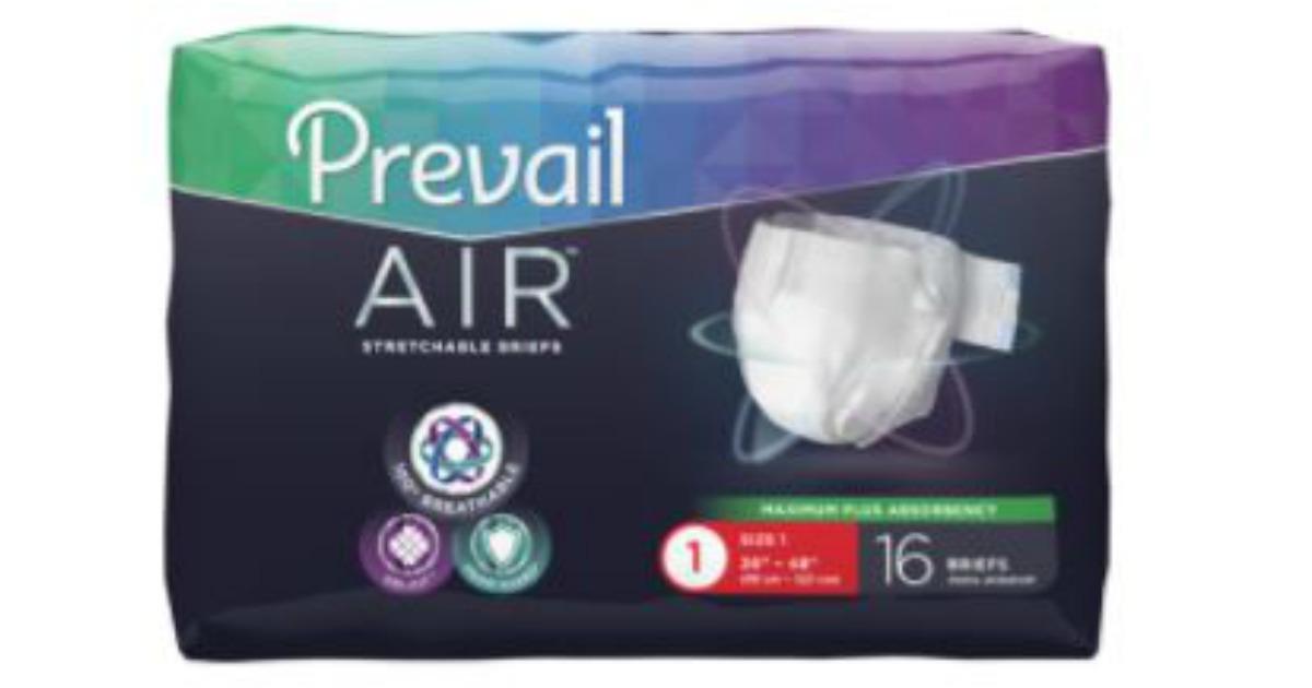 FREE Prevail Air Briefs Sample Packs! - MWFreebies
