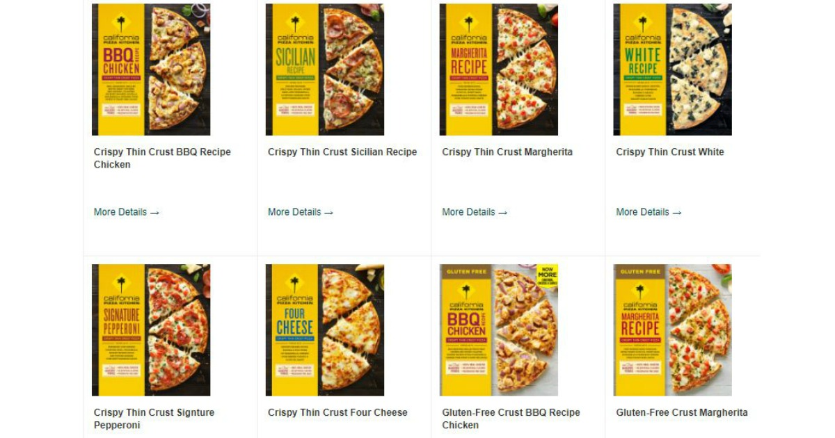 Possible FREE Full-Value Coupon for California Pizza Kitchen From ...