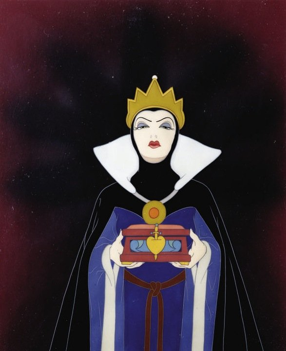 The Evil Queen from Disney's Snow White
