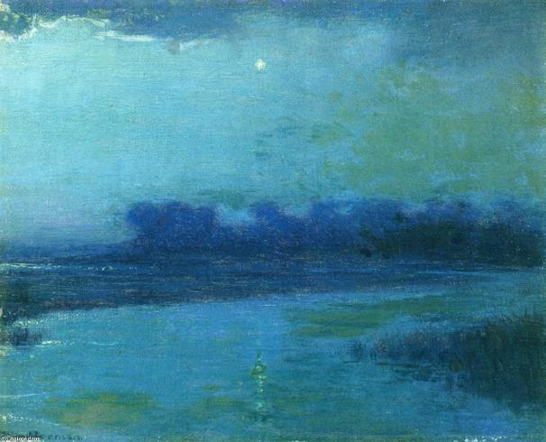 The Evening Star, Painting by Lowell Birge Harrison (1854-1929), United States
