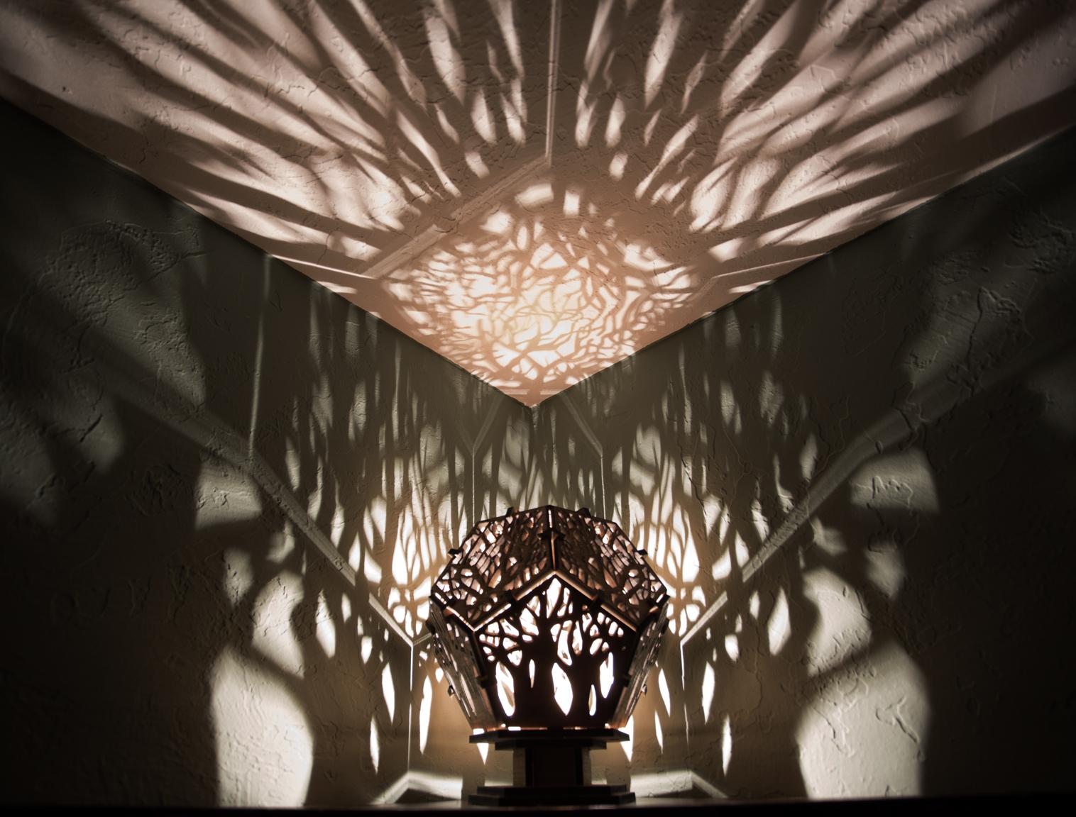 Tree Shadow Lamp Mwk Designs