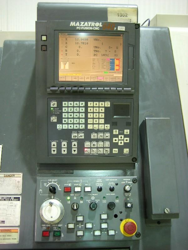 Cnc Turning Centers Mazak Sqt 200 Msy Cnc Lathe Mazatrol Fusion 640 21 Sw 23 Cc