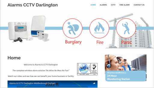 Alarms CCTV Darlington