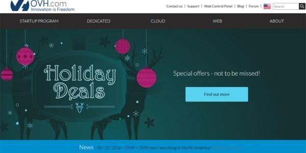 ovh web hosting  - مجلة ووردبريس