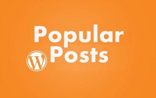 كيف تعرض المقالات الاكثر شعبية مع الصور البارزة