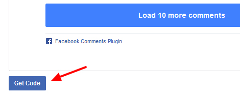 get code facebook comments - مجلة ووردبريس