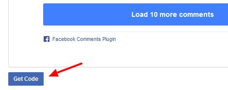 get code facebook comments - مجلة ووردبريس