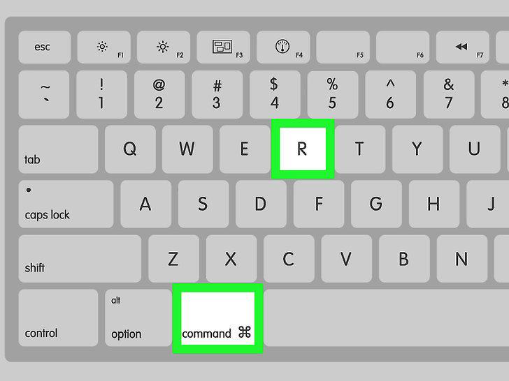 جهاز (Mac) : CMD + R