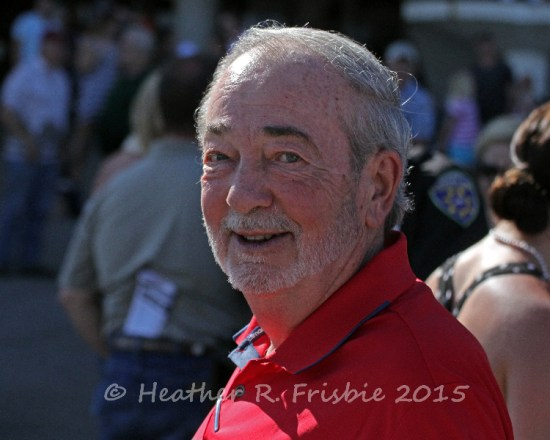 Hold for More's owner, Dale Schenian, beaming after his win in the MTA Stallion Auction Stakes