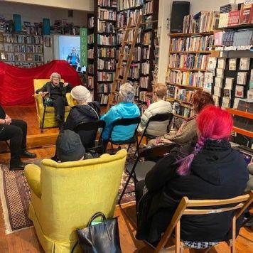 Bookstore talk