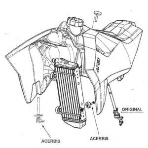 Acerbis Fuel Tank KTM EXCSXSXFXCXCF  MX1 Canada