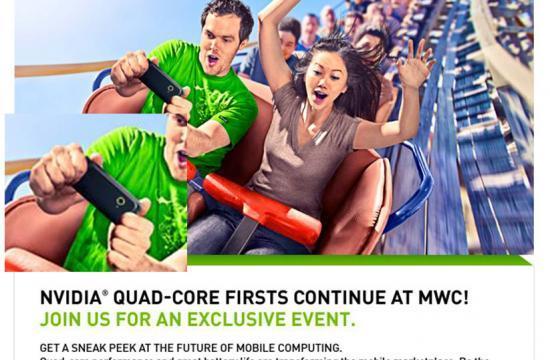 เตรียมพบกับสมาร์ทโฟนชิปเซ็ต Nvidia Tegra 3 Quad-Core ในงาน MWC