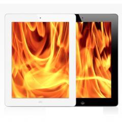 The New iPad ร้อนแรงไม่เพียงแค่ยอดขาย แต่มันคือ iPad ที่ร้อนกว่า 33.6° C !!!