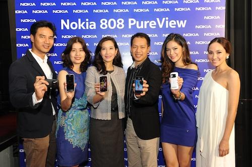 Nokia มั่นใจการตอบรับของ Nokia 808 Pureview ของผู้บริโภคไทย