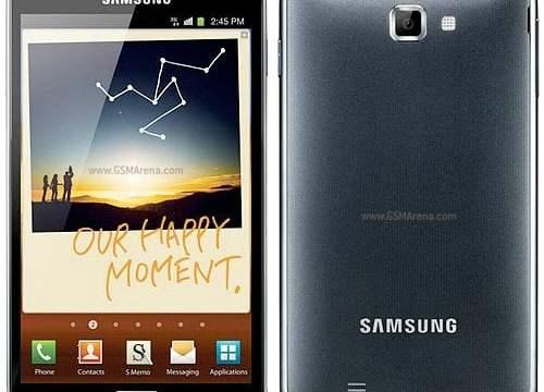 Samsung Galaxy Note มีปัญหากับการแสดงผลสีดำ