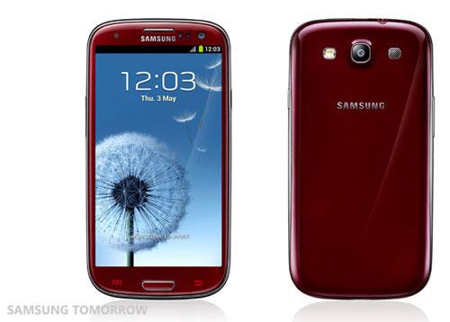 Galaxy S III โผล่มาอีก 2 สีใหม่ล่าสุด