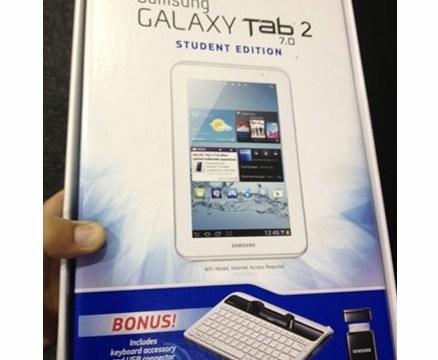 น่าเอามาให้เด็กใช้ Samsung เตรียมวางขาย Galaxy Tab 2 7.0 เวอร์ชั่นสำหรับนักเรียนที่ US เร็วๆนี้