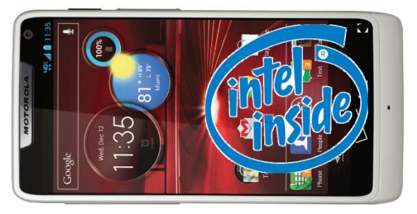 Motorola RAZR M จะขายที่ UK โดยใช้ CPU Intel ?