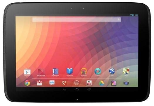 Samsung จับมือ Google เปิดตัว Nexus 10 Tablet หน้าจอสุดละเอียดราคาเร้าใจ