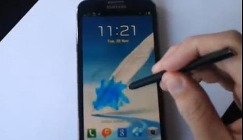 หลุดเฟิร์มแวร์ Android 4.1.2 สำหรับ Galaxy Note 2 เพิ่มลูกเล่นใหม่เต็มสูบ