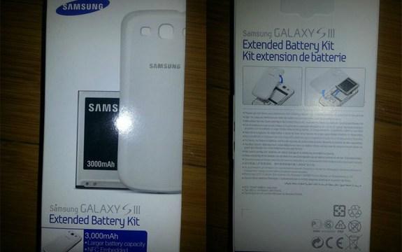 Samsung จัดให้ Galaxy S3 เปิดตัวแบตก้อนใหม่ ใหญ่จุใจกว่าเดิม