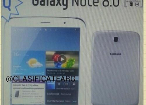 นี่คือหน้าตาของ Galaxy Note 8.0 ?