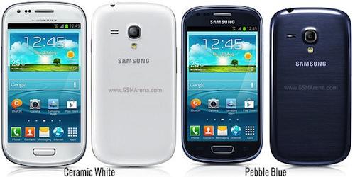 Samsung Galaxy S III mini มาครบทุกสีพิมพ์นิยม (ซะที)