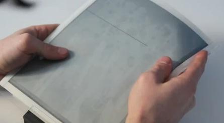 นวัตกรรม… PaperTab แท๊บเลตบางดุจกระดาษ ความยืดหยุ่นสูง