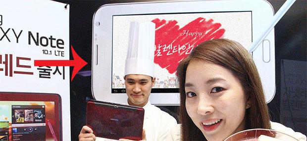 Samsung Galaxy Note 8.0 เตรียมลงขายปลายเดือนมีนาคม ราคาสูงกว่า iPad mini