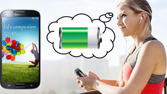 อึดอย่างโหด… Galaxy S4 แบตอึดอยู่ได้สามวันต่อการชาร์ต