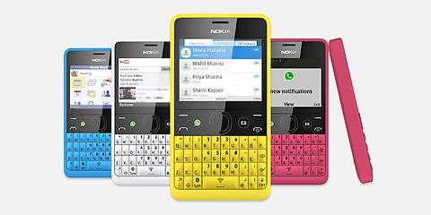 โนเกียเปิดตัว Nokia Asha 210 รุ่นใหม่ดีไซน์สะดุดตา ราคามิตรภาพ