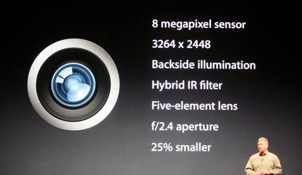 Apple iPhone 5S มาพร้อมกล้อง 12 ล้านพิกเซลพร้อมเพิ่มประสิทธิภาพในการถ่ายภาพที่แสงน้อย?
