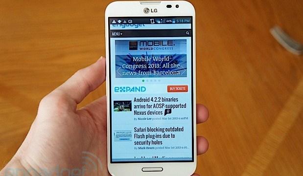 พบกับรุ่นสานต่อของ LG Optimus G ได้ในไตรมาส 3 ปีนี้