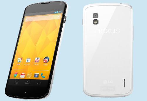 LG เปิดตัว Nexus 4 รุ่นสีขาว อย่างเป็นทางการ พร้อมลุยขายทั่วโลก