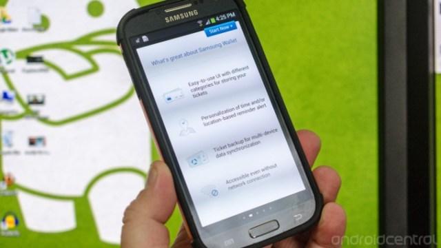 Samsung ท้าชน iOS Passbook ด้วย Samsung Wallet