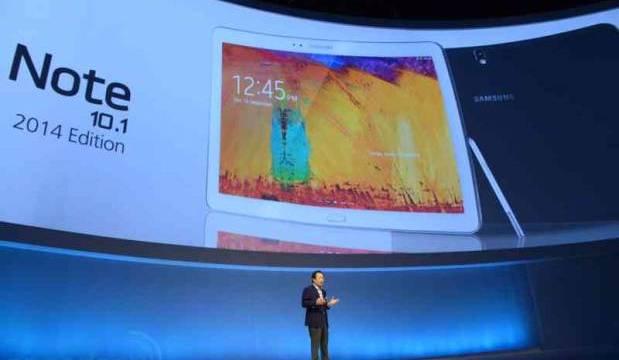 เปิดตัวแล้ว Samsung Galaxy Note 10.1 2014 Edition คิดชื่อเผื่อปีหน้ากันเลยทีเดียว
