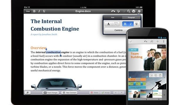 Quickoffice กลายเป็นแอพฟรีทั้งบน iOS/Android