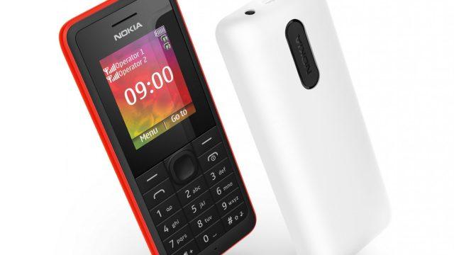 โนเกียส่ง Nokia 107 และ Nokia 108 เจาะตลาดมือถือสองซิมพร้อมกันสองรุ่น ตอบรับไลฟสไตล์ฟังเพลง-ถ่ายรูป