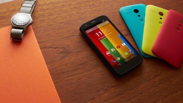 Motorola เผยข่าวดี Moto G ขึ้นแท่นเป็นโทรศัพท์ขายดีที่สุดของบริษัท