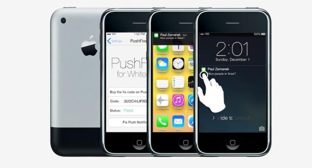 ติดตั้ง iOS 7 บน iPhone/iPod Touch โบราณด้วย Whited00r 7