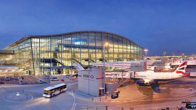 Samsung อัดเงิน เปลี่ยนชื่อ Heathrow Terminal 5 เป็น Galaxy S5