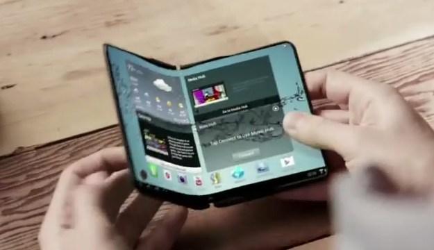 Samsung เตรียมออกแทบเล็ตหน้าจอพับได้
