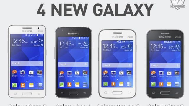 มาเป็นชุด… Samsung เปิดตัว GALAXY Core 2 พร้อมสามพี่น้องตลาดล่าง