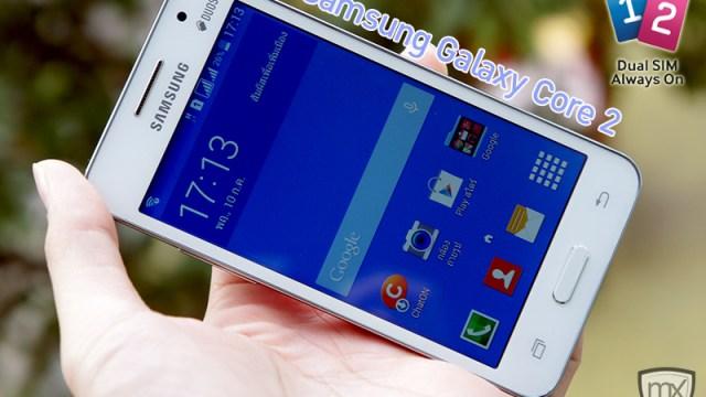 [Preview] Samsung Galaxy Core 2 รุ่นใหม่สองซิม Dual Active พลัง Quad Core ราคา 6,590 บาท