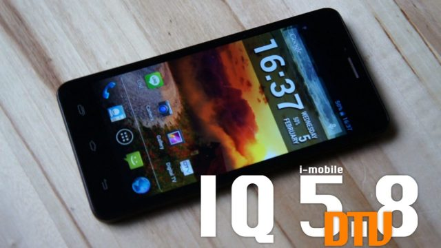 Power ON #084 : i-mobile IQ 5.8 DTV