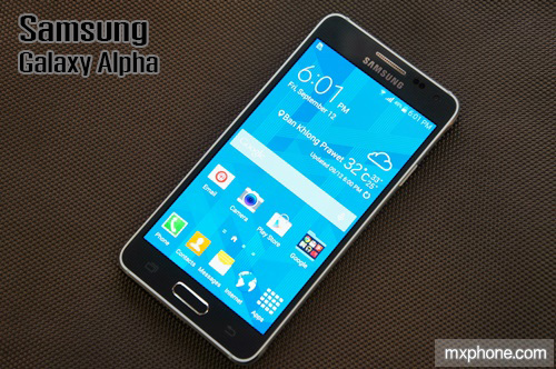 [Preview] Samsung Galaxy Alpha สมาร์ทโฟนเฟรมโลหะน้ำหนักเบา เล็กแต่แรงด้วยขุมพลัง Exynos 5430