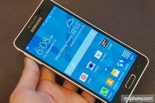 Samsung Galaxy Alpha สมาร์ทโฟนเฟรมโลหะเครื่องแรก พร้อมวางจำหน่ายแล้ว 25 กันยายนนี้ 20,900 บาท