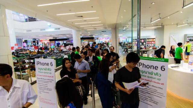 คอมเซเว่นฯ ตอกย้ำยอดขายตัวแทนจำหน่ายอันดับ 1 ด้วย iPhone6 พร้อมเปิดให้จองและจำหน่าย กว่า 60 สาขาทั่วประเทศ