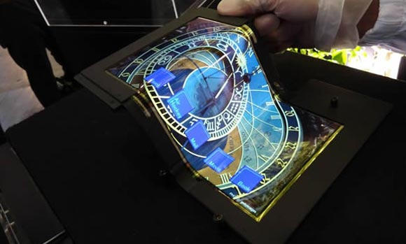 SEL โชว์หน้าจอสัมผัสพับได้ ขนาด 8.7 นิ้ว OLED แท็บเล็ตแบบพับได้น่าจะมาในอนาคต