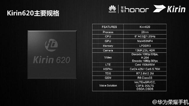 Huawei ออกชิปเซ็ต octa-core ตัวใหม่ Kirin 620 ออกแบบเพื่อโทรศัพท์ระดับกลาง